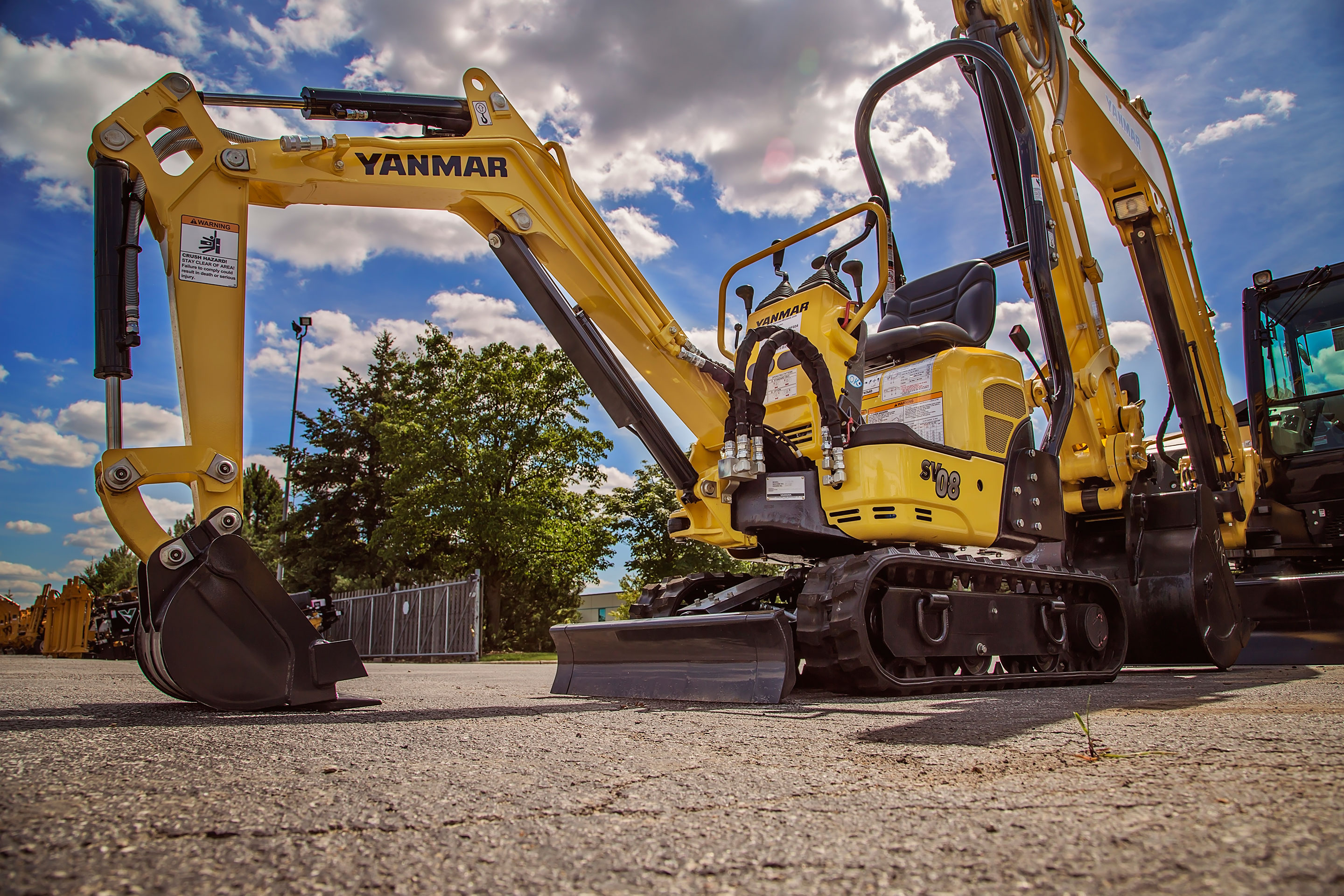Yanmar Excavator SV08 - Make the switch today!