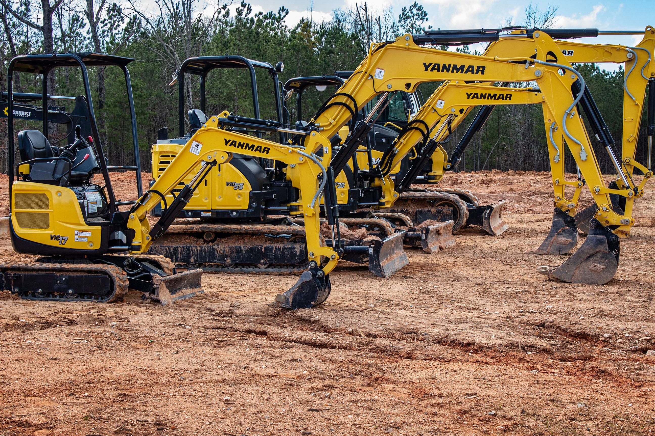 Yanmar Excavator ViO17 - Make the switch today!