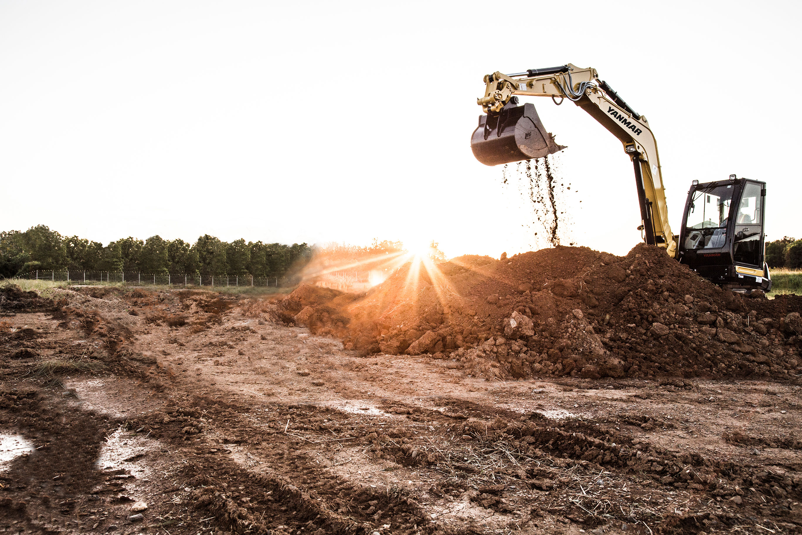 Yanmar CE Excavator - Make the switch today!