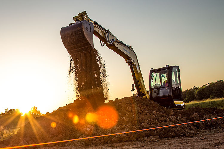 Yanmar Excavator - Make the switch today!