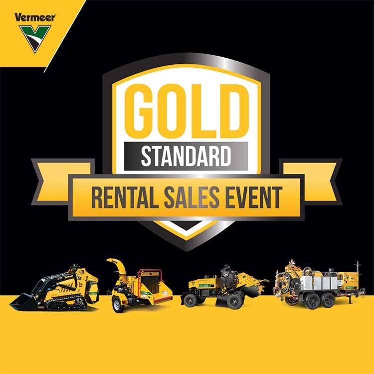Special Offer - Gold Standard Rental Sales Event