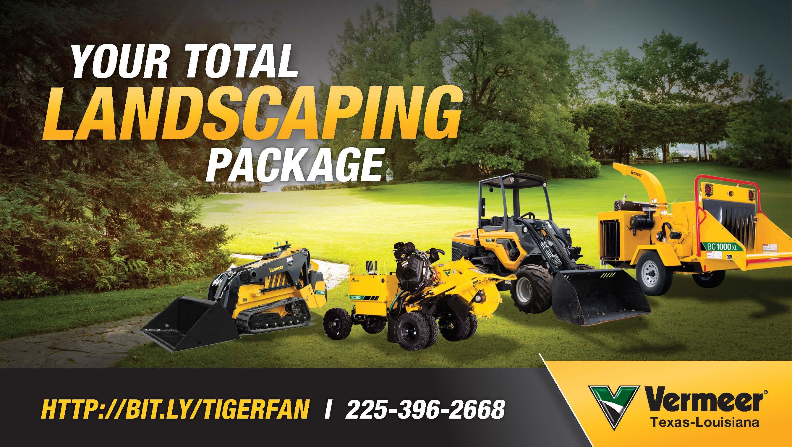 Tiger Rag - Vermeer for your total landscaping package
