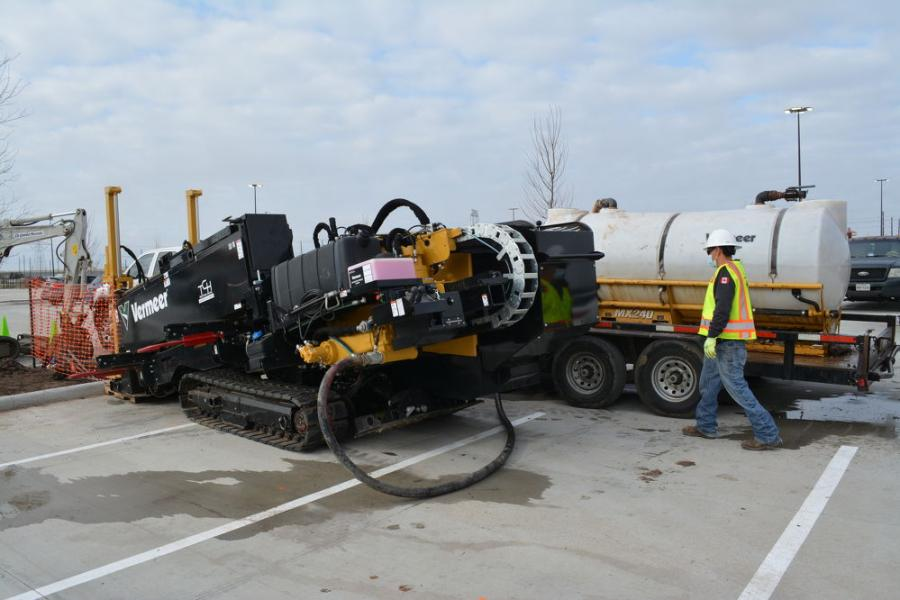 TCH Directional Drilling - rig set-up