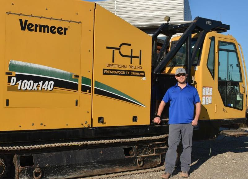 TCH Directional Drilling - Vermeer D100x140 horizontal directional drill