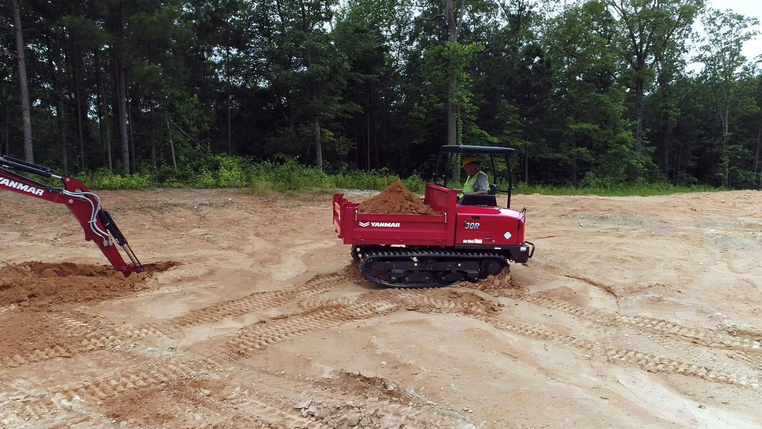 Yanmar Tracked Carrier 30R