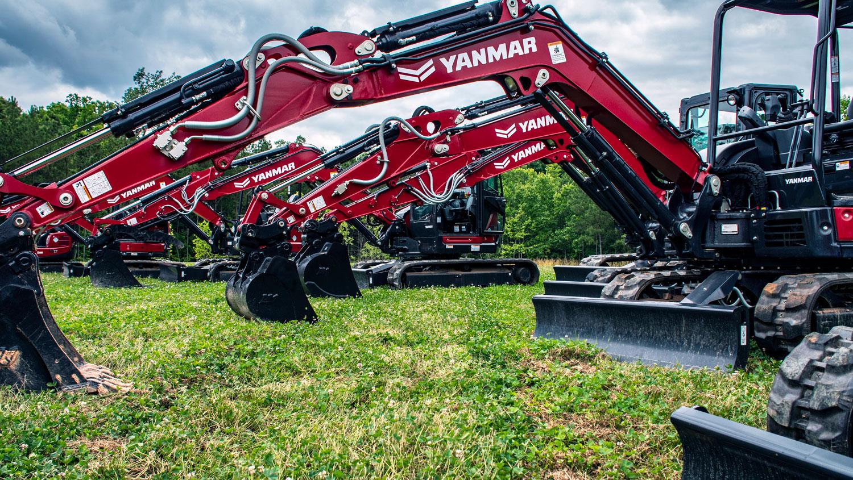 Yanmar Compact Equipment at Vermeer Texas-Louisiana