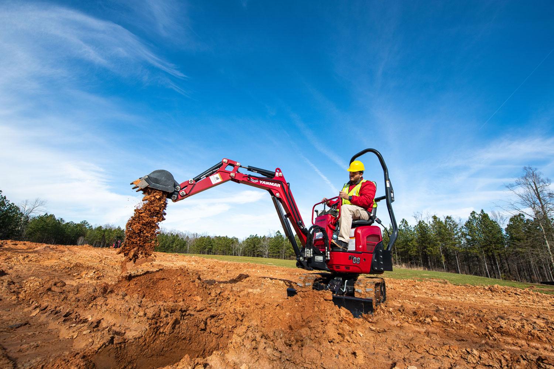 Yanmar Mini Excavators SV08