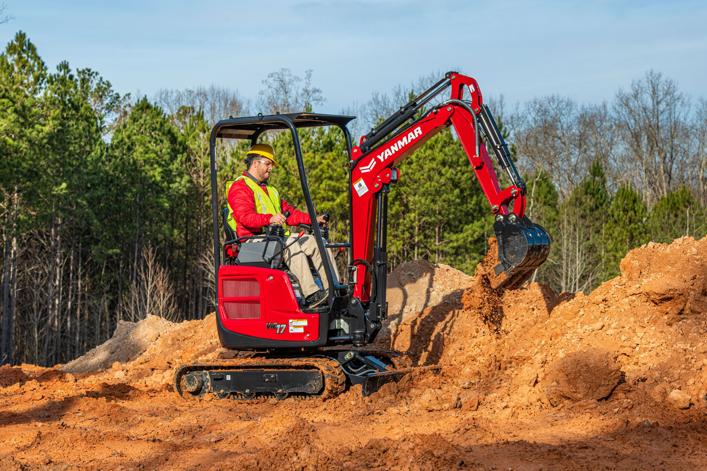 Play in the dirt - Yanmar ViO17 Mini Excavator