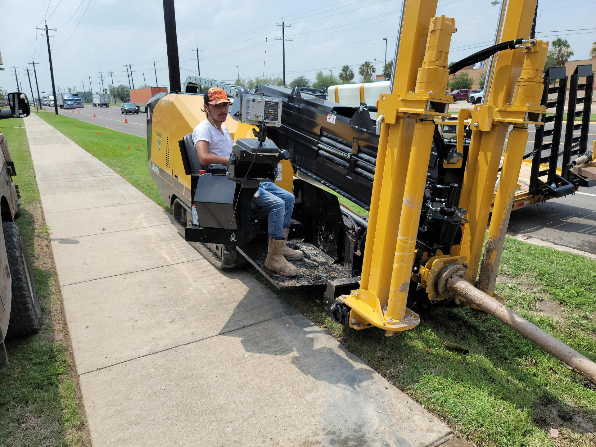 On the job in south Texas with a Vermeer directional drill